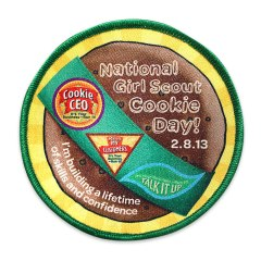 National Girl Scout Cookie Day Patch