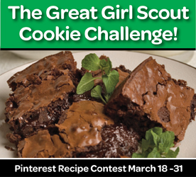 The Great Girl Scout Cookie Challenge